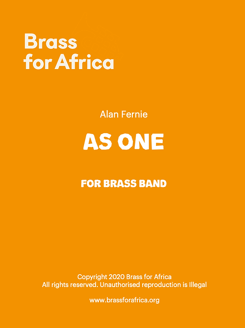 As One - for Brass Band, by Alan Fernie