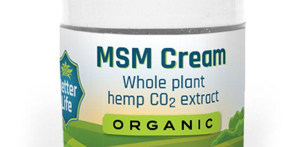 MSM CBD Cream