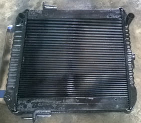 ремонт радиаторов - замена сот
