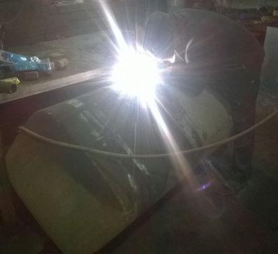 ремонт баков топливных