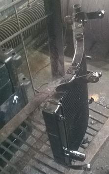 ремонт радиатора охлаждения спб