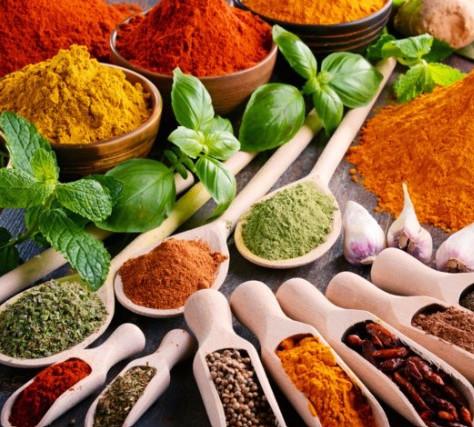 teinture végétale: les épices