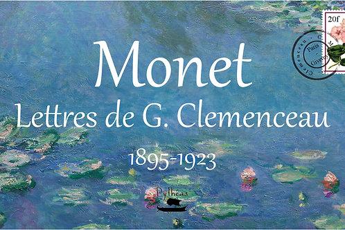 Monet - Lettre de G.Clemenceau 1895-1923