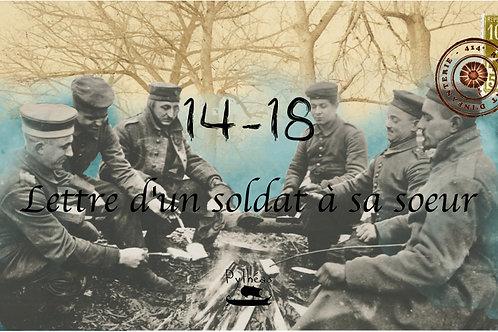 Lettre d'un soldat à sa soeur