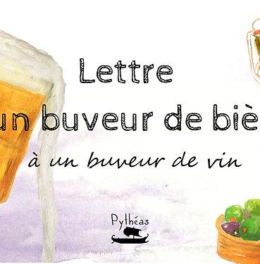 Lettre d'un buveur de bière