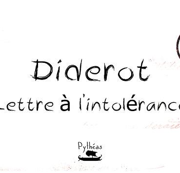 Lettre à l'intolérance