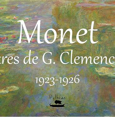 Monet - Lettre de G.Clemenceau 1923-26