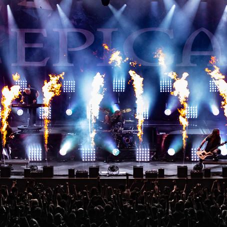 LIVE REPORT: Epica's 1000th Show Celebration (013 - Tilburg, Netherlands - April 14, 2018)
