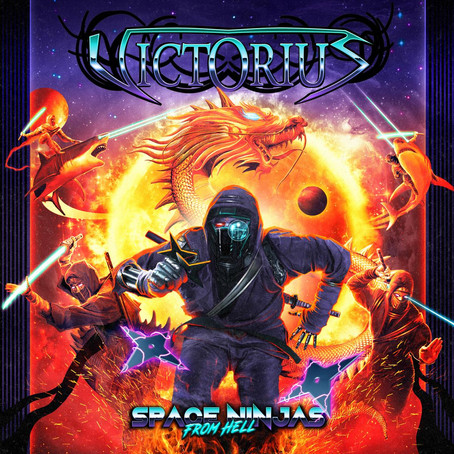 Victorius - Space Ninjas From Hell (Review)