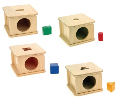 Set de 4 Cajas para embocar