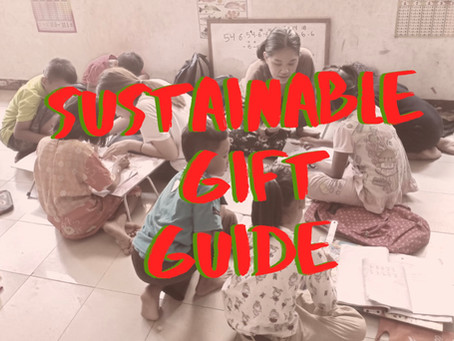 Last Minute Sustainable Gift Guide