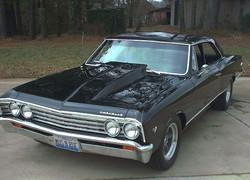 1967 Chevrolet Chevelle - Black