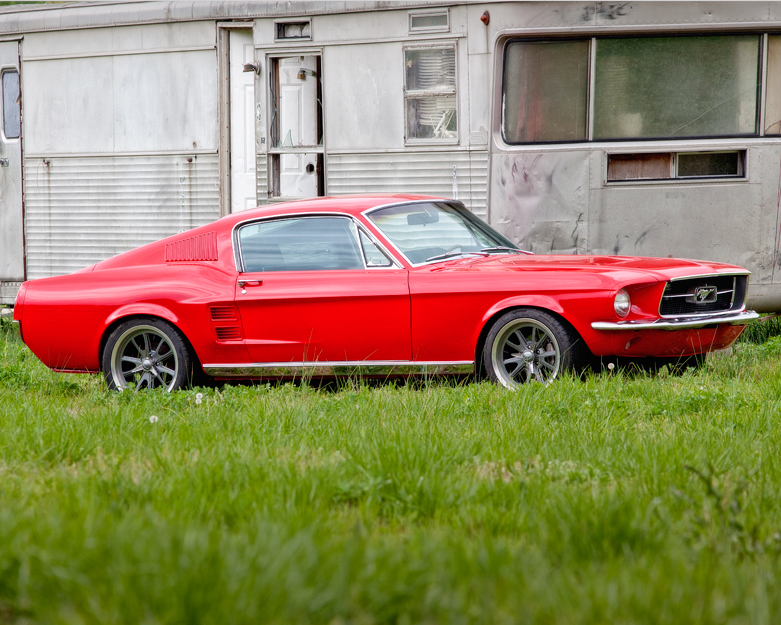1967 Ford Mustang Fastback - Red