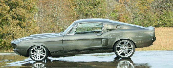 1967 Ford Mustang Fastback - Grey