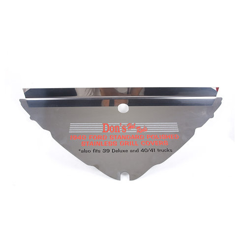 1939-40 Ford Stainless Steel Grille Cover (Please Call in to Order)