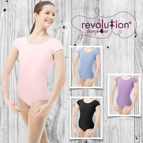 Basic Short Sleeve Leotard