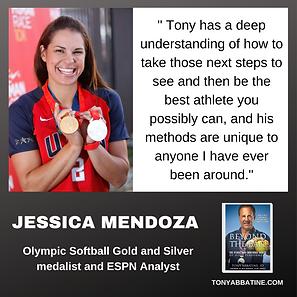 JESSICA MENDOZA about Tony Abbatine