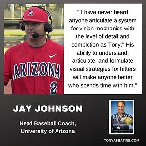 JAY JOHNSON about Tony Abbatine