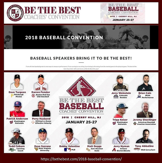 Tony Abbatine at Be the Best Baseball