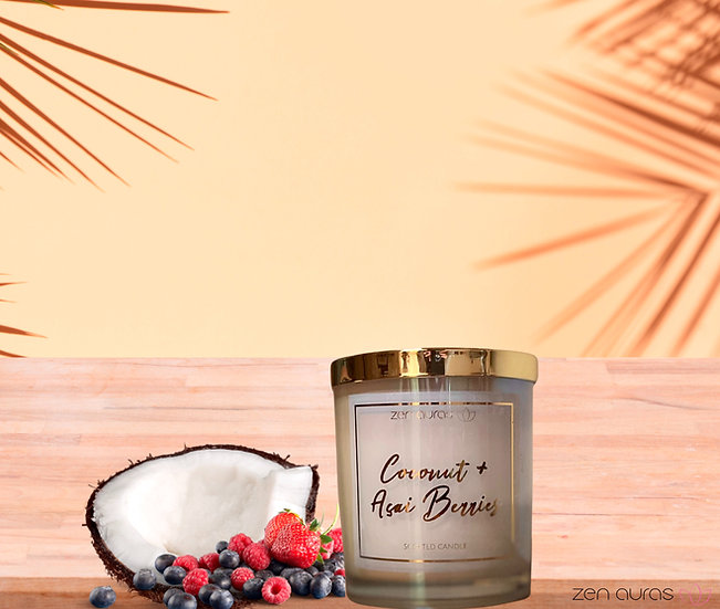 Coconut + Acai Berries