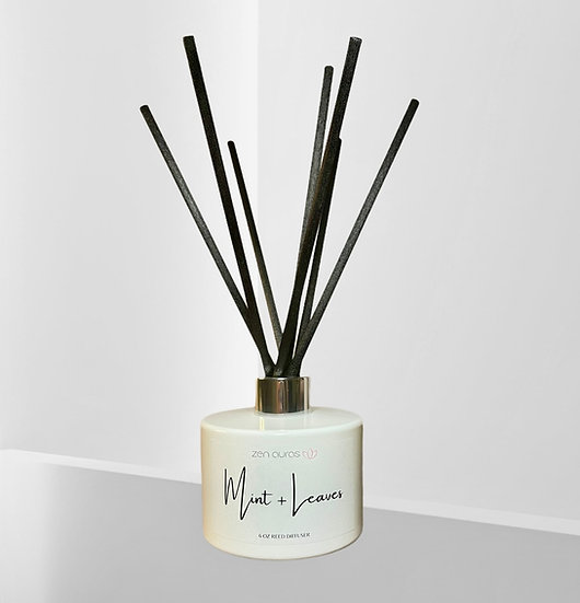 Mint + Leaves Reed Diffuser