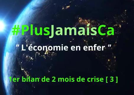 #PlusJamaisCa : L'économie en enfer