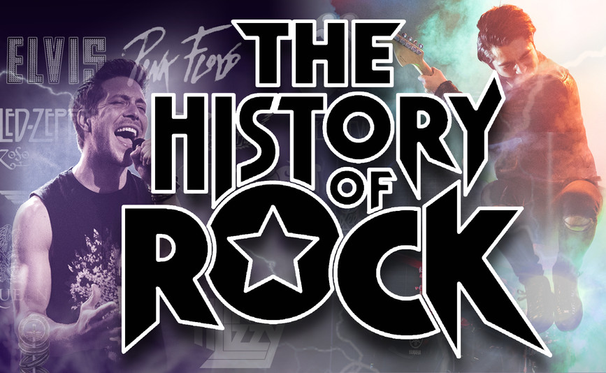 Relive The Greatest Rock Songs Of All Time LIVE on stage