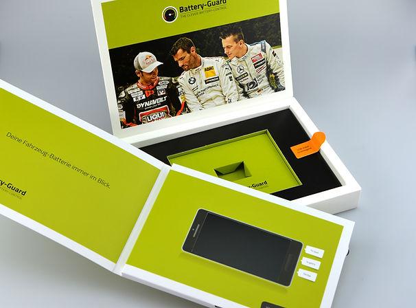Video Card mit Box