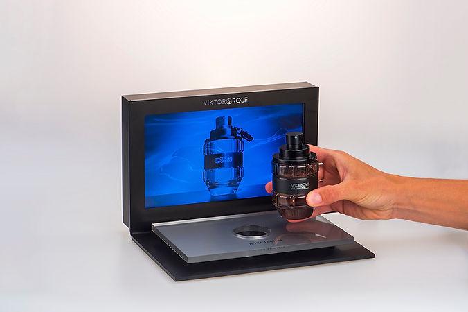 """Video Card Mini mit 2,4"""" Monitor"""