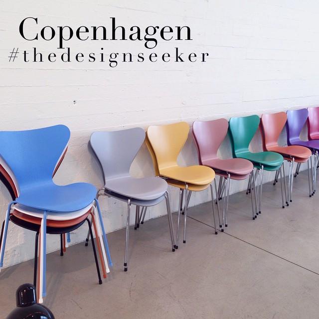 Instagram - Love the new colours @fritz_hansen #fritzhansen #Copenhagen #thedesi