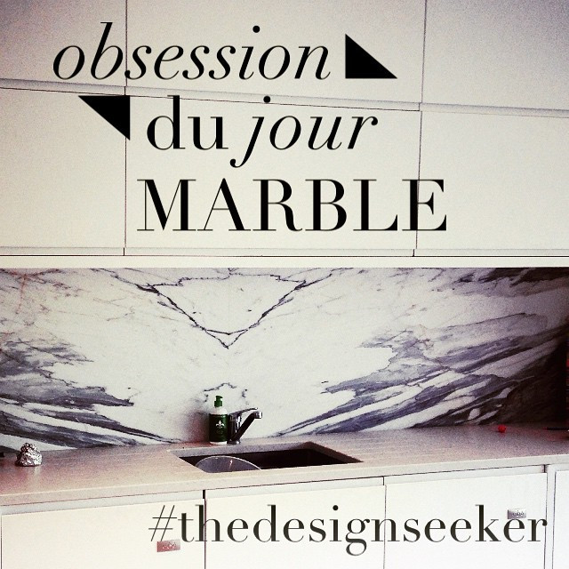 Instagram - #obsessed #splashback #calacatta #marble #finishedproject #thedesign