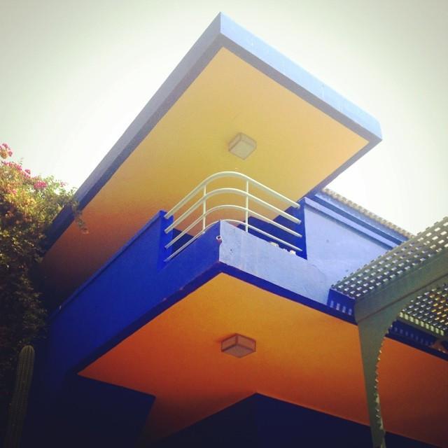 Instagram - #yvessaintlaurent #gardens #architecture #marrakech #modernism #colo