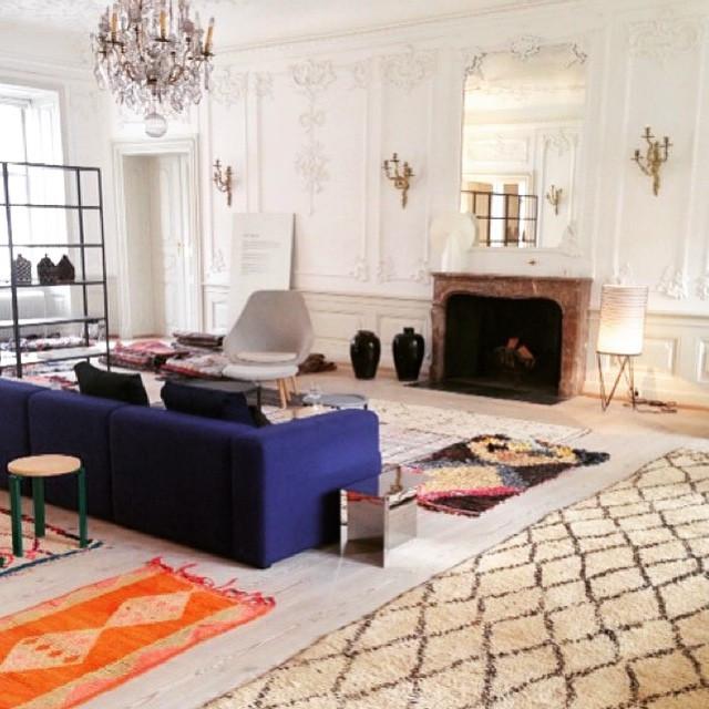 Instagram - @emilyshouselondon #beniourain #boucherouite #rugs #interiordesign #
