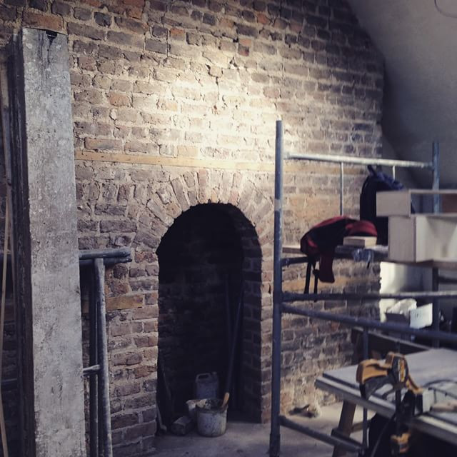 Instagram - #hiddengem #renovation #Dublin2 #attic #coveredforyears #interiordes