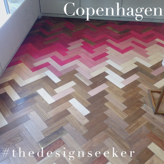 Instagram - #pink #parquet 💕💕 @stellamccartney #Copenhagen #thedesignseeker #i