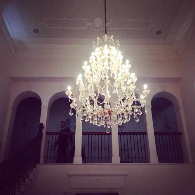 Instagram - #georgian #irishhomes #irisharchitecture #countryhouse #chandelier #
