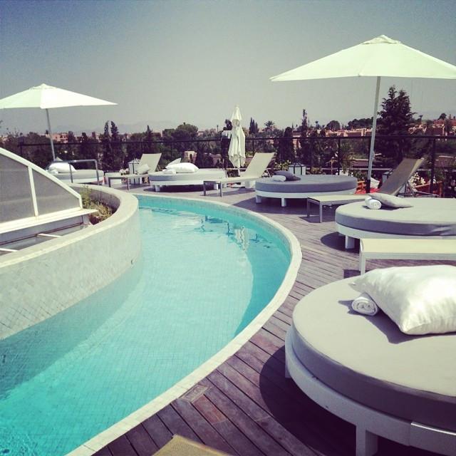 Instagram - #marrakech #rooftoppool #thepearlmarrakech