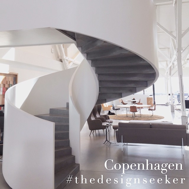 Instagram - This staircase though @fritz_hansen #thedesignseeker #archiecture #c