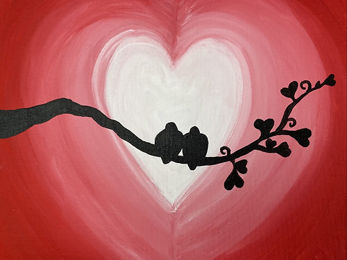 Art To Go! Love Birds