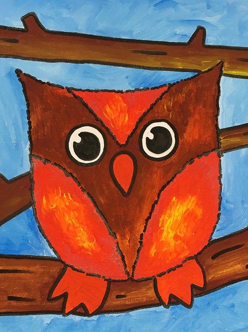 Art to Go! Owl