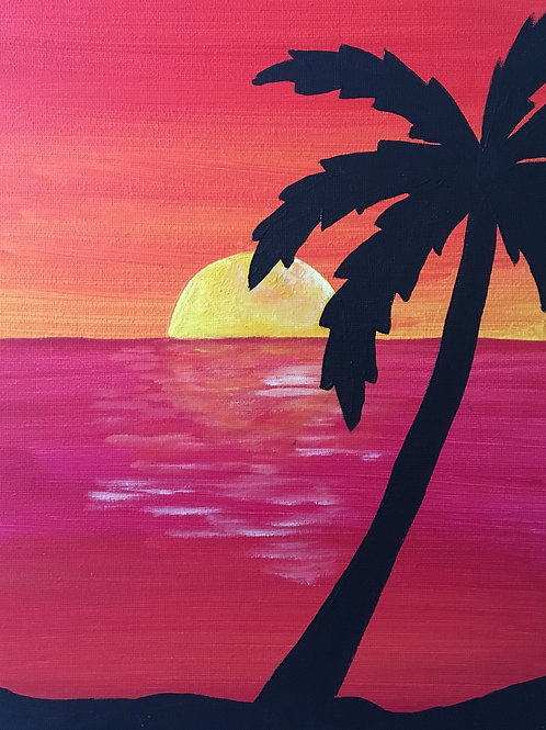 Art to Go! Palm tree