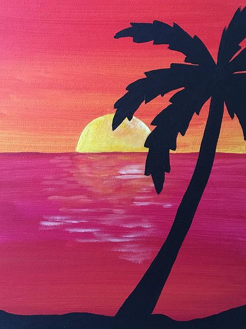 Art to Go! Palm tree