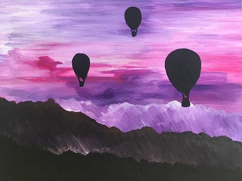 Art to Go! Hot Air Balloons.