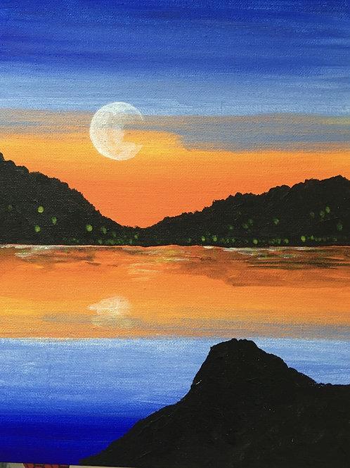 Art to Go! Summer sunset