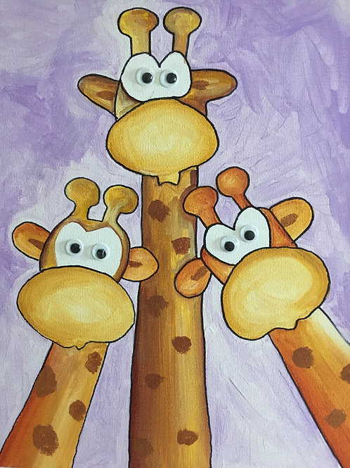 Art to Go! Giraffes