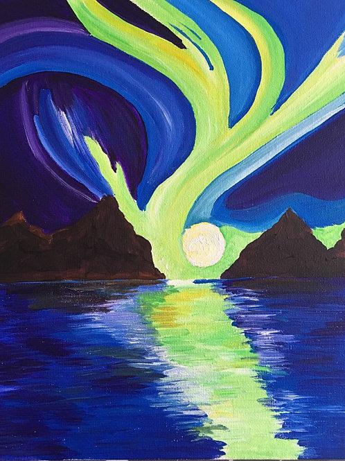 Art to Go! Northern Lights
