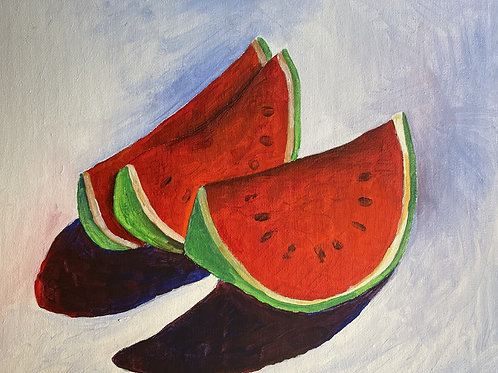 Art To Go! Watermelon Still Life