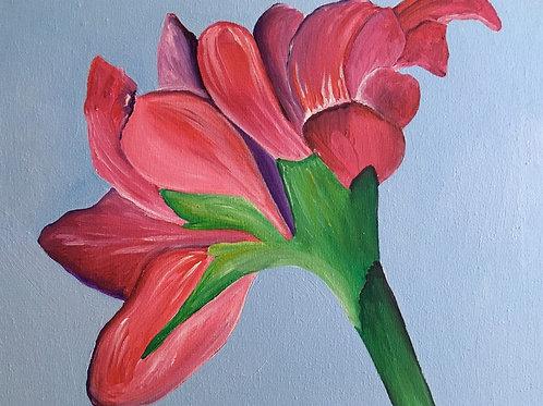 Art Pack To Go - Red flower