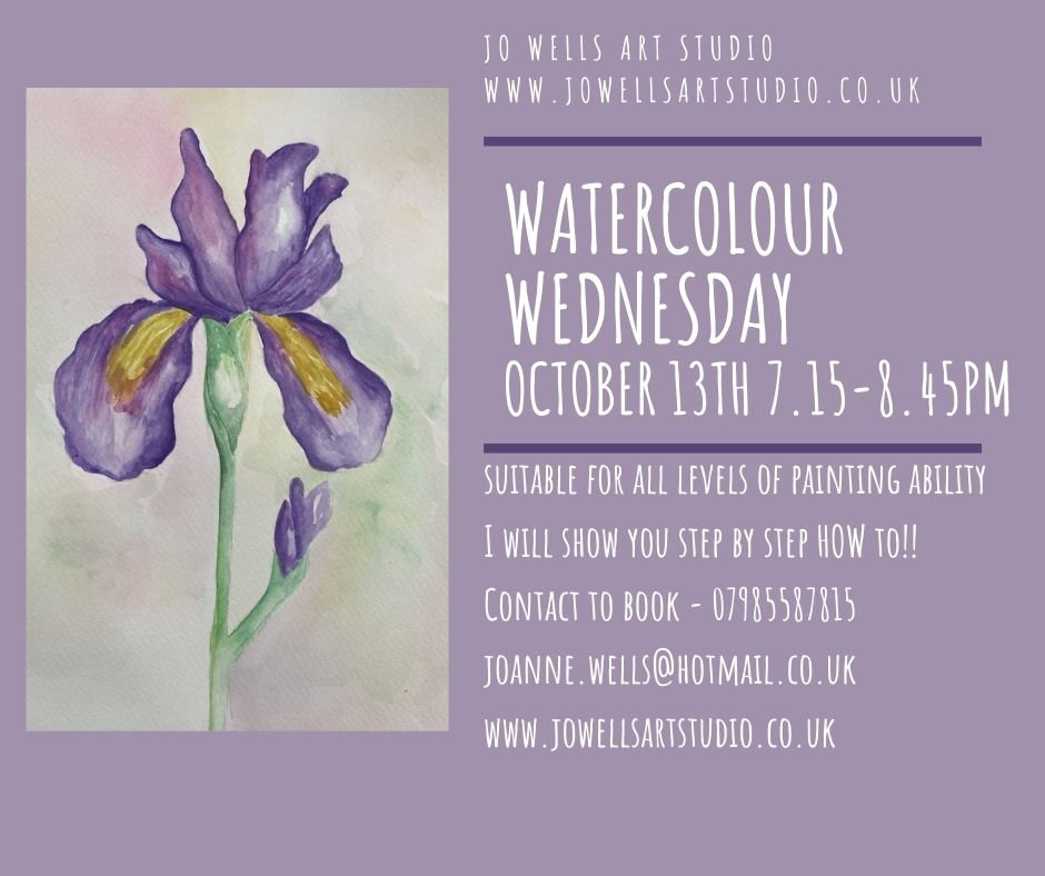 Watercolour Wednesday - October