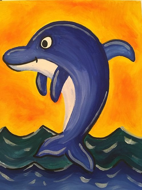 Art to Go! Dolphins